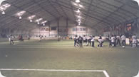 Indoor soccer field